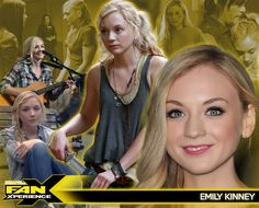 Welcome actress Emily Kinney to #FanX15! Best known as Beth Greene in the Walking Dead!