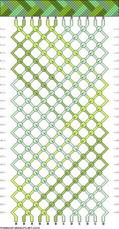 12 strings, 3 colors