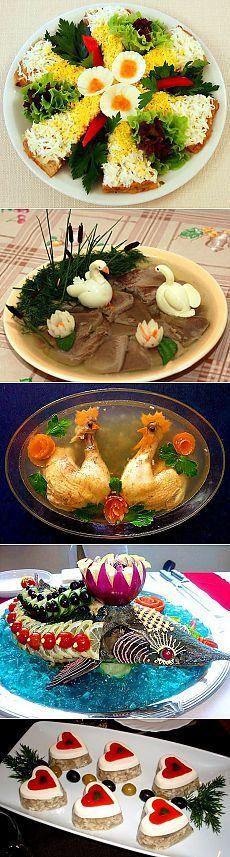 ПРАЗДНИЧНЫЕ БЛЮДА ПОДБОРКА. / Болталка / Кулинария Good Food, Fun Food, Mexican, Fruit Carvings, Breakfast, Cake, Ethnic Recipes, Party, Russia