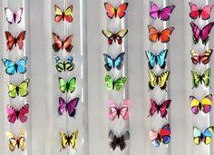 Farfalle per decorare i tavoli del tuo matrimonio..    http://www.nonelasolitabomboniera.it/decorazioni/227-stupende-farfalle-decorative.html