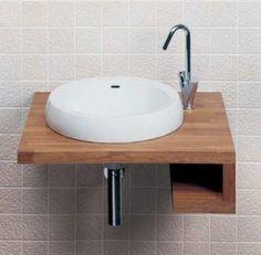 Bathroom, Wall Small Bathroom Sinks: 17 Best Small Bathroom Sinks Design Ideas