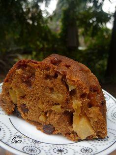 Caro Pimiento: Budín integral de manzanas Banana Bread, Keto, Cake, Sweet, Desserts, Food, Gastronomia, Breakfast, Healthy Breads