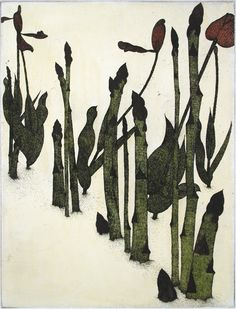Medium: Color Etching Year: 1988 Edition : Edition of 100 Size: 11-3/4 x 8-3/4 inches