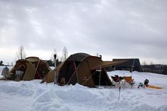 Snow Peak camp out