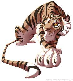 Just a Tiger by ~Ayem on deviantART