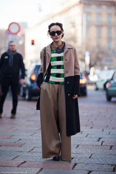 Street style: Valentina Di Pinto  Stylist and fashion consultant