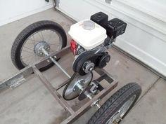 ผลการค้นหารูปภาพสำหรับ how to make a steering for a go kart Tricycle, Homemade Go Kart, Go Kart Plans, Diy Go Kart, Chevy, Drift Trike, Go Car, Karting, Pedal Cars