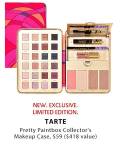 Tarte Pretty Paintbox Collector's Makeup Case Archives - Simply Annessa