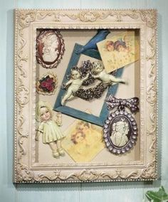 Victorian Shadow Box Wall Art Decor review | buy, shop with friends, sale | Kaboodle