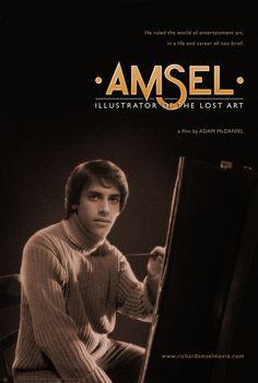 'Amsel: Illustrator of the Lost Art' movie-poster design