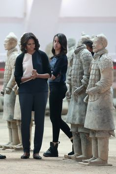A Definitive Ranking Of Michelle Obama's China Tour Style