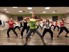 Zumba Dance Aerobic Workout 30 Minutes Dance Classes For Weight Loss - YouTube