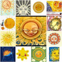 Sun art mosaic by Raincloud☁, via Flickr