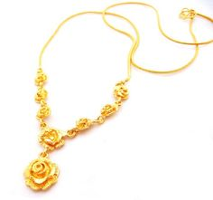 ROSE 22K 23K 24K YELLOW GP GOLD 18 inch 6.5 Gram NECKLACE Jewelry - N_34 bythaishop,http://www.amazon.com/dp/B00DFC1XZG/ref=cm_sw_r_pi_dp_I-n9rb16HWPERR93