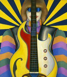"""richard lindner """"rock-rock"""", 1966"""