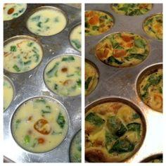 Mini Egg and Veggie Frittatas (Paleo)