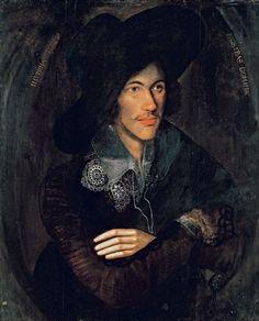 John Donne (c. 1595), artist unknown.