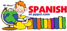 Spanish - World Languages FREE Presentations in PowerPoint format, Free Interactives and Games