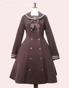 Designer Clothes, Shoes & Bags for Women Shops, Character Outfits, Vintage Wear, Gothic Lolita, Girl Power, Innocent World, Style Inspiration, Coat, How To Wear