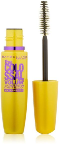 Maybelline Volum' Express The Colossal Waterproof Mascara, Classic Black [241] 0.27 oz (Pack of 10). Product of Maybelline. Pack of 10.