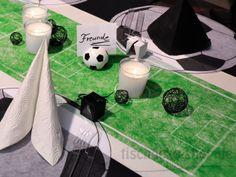 Tischband Tischläufer Vlies Tischdeko Fußball WM Party 5 Meter