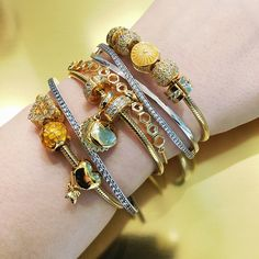 ☀️ #PANDORAshine #pandora #pandoraring #pandorabracelet #pandoraaddict #pandoragold #jewelry #pandorajewelry #pandoranecklace