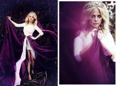 Czarina Clear Crystal Tiara ~ Rhinestone Dangles
