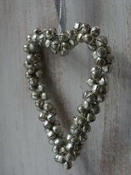 jingle bells #heart #decoration