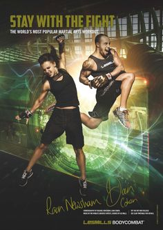 New posters for Les Mills Body Combat and Body Balance 725b0cb9636