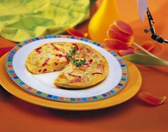 The frittata is an Italian dish that makes good use of whatever ingredients you have on hand. Make yours tonight. Y Food, Good Food, Egg Recipes, Cookie Recipes, Egg Pizza, Frittata Recipes, All Vegetables, Melted Cheese, Italian Dishes