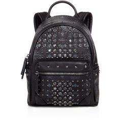 Mcm Diamond Visetos Backpack ($1,950) ❤ liked on Polyvore featuring bags, backpacks, mcm, rucksack bag, knapsack bags, diamond backpack, day pack backpack and mcm backpack