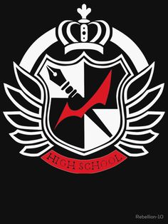 the logo of hope's peak academy from the anime,games and novels of danganronpa. According to the series only the top are allowed to go to this school. Wich one do you prefer: the ultimate hope or the ultimate despair.