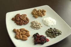Paleo Granola Ingredients
