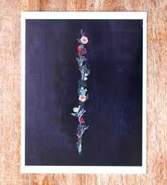Floral Band Art Print | Art Prints & Posters | Britt Hermann | Scoutmob Shoppe | Product Detail