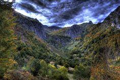 España Montañas Bosques Tarna Asturias HDR Naturaleza