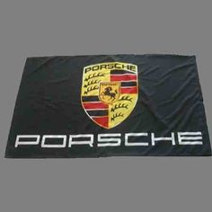 3'x5' PORSCHE FLAG, banner black by .. Save 6 Off!. $18.50. 3'x5' 100% POLYESTER FLAG w/GROMMET STRIP FOR ATTACHING TO POLE.