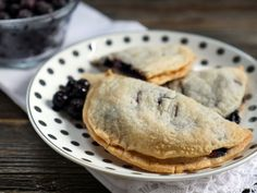 Blueberry and Goat Cheese Hand Pies by @myheartbeets