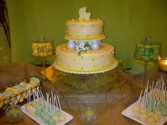 Yellow and Green Rustic Baby Shower   CatchMyParty.com