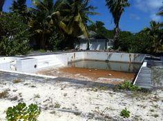 The pool at K Club Barbuda, 2014