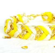 Neon Yellow Friendship Bracelet
