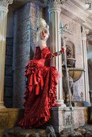 "Imminence by Ryoko-demon  __________________________________  Astharoshe Asran - Trinity blood (venetian dress)   __________________________________  Costume, wig and make-up by Ryoko-demon (thanks my dad for help with spear Gae Bolg!)  __________________________________ Photo by ""Kifir"" Soldatov Vladimir"