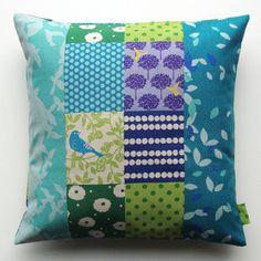 pieced pillow