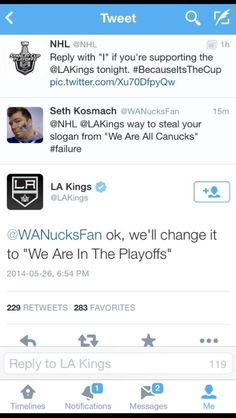 Kings organization, please give your social media person a raise. Hockey Baby, Hockey Girls, Ice Hockey, Boys, Hockey Memes, Funny Hockey, Hockey Quotes, Ontario Reign, La Kings Hockey