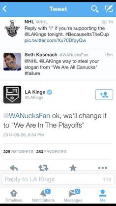Kings twitter