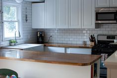 Butcher Block Counter Tops: Labor of Love | A Romance On The Brink Of Reality