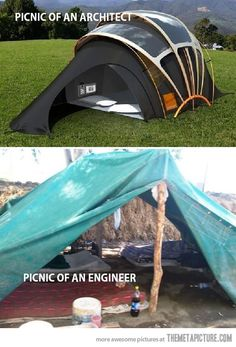 Architects vs. Engineers…