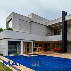 """2 curtidas, 1 comentários - Mapa 61 - Imoveis de Luxo (@mapa61imoveis) no Instagram: """"🏘Linda Mansão SHIS QI 11  Lago Sul , Brasilia -DF Projeto de arquitetura e interiores: Denise Zuba…"""""""