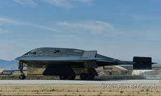 B2 stealth on the rollout at EDW.