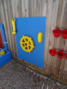 Outdoor Play Area,  I want this for the kids!!