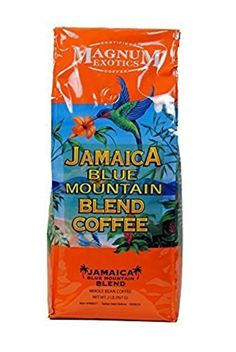 Magnum Jamaica Blue Mountain Coffee Blend - 2lbs Whole Bean (4 Pack) by Jamaica Blue Mountain Coffee -- Awesome products selected by Anna Churchill